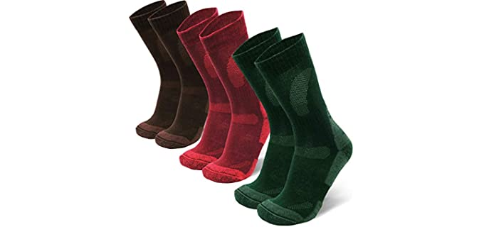 Danish Endurance Unisex Merino Wool - Hiking socks