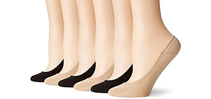 PEDS Women's Ultra Low - Socks for Booties