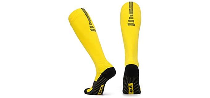 Pelisy Men's Performance - Socks for Football