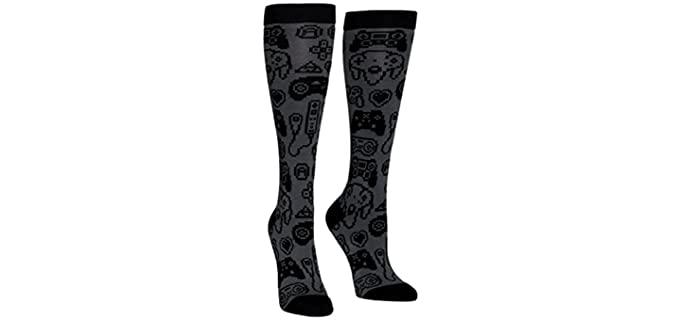 Sanshee Unisex Knee Length - Gaming Socks