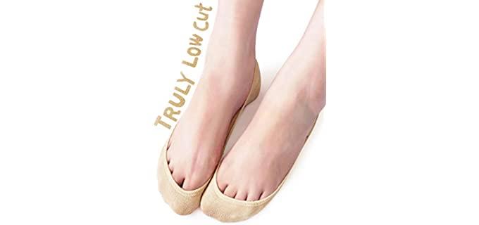 Vero Monte Women's Low Cut - Socks for Heels