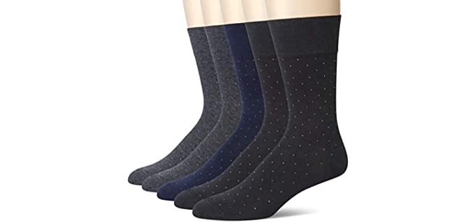 u&i socks Men's Supima Cotton - Crew and Dress socks