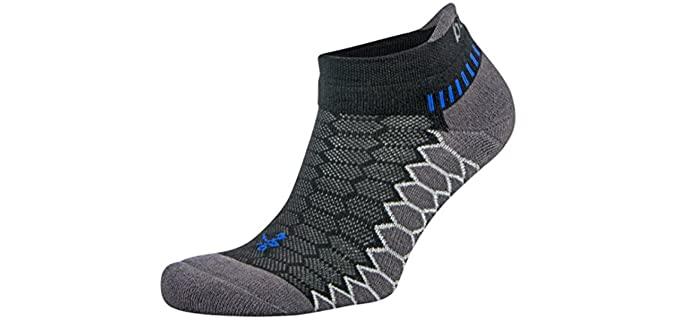 Balega Unisex Silver - Toe Fungus Running Socks