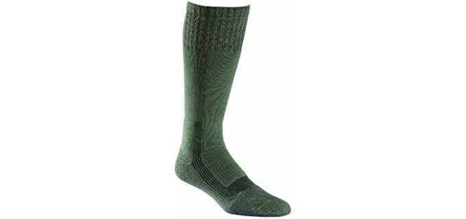 Fox River Men's Military Boot Socks - Over Calf Military Compression Boot Socks