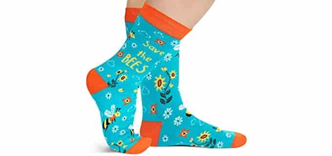 Lavley Unisex Nature - Cute Novelty Socks For Men And Women