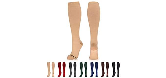 Newzill Unisex Copper - Cotton Copper Compression Socks