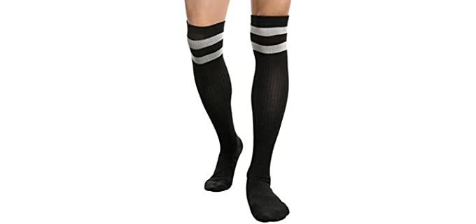 Sheliky 's Sport - Thigh High Athletic Socks