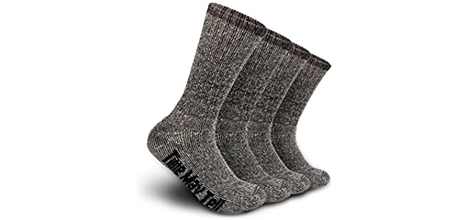 Time May Tell Men's Hiking - Merino Wool Socks