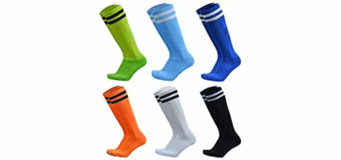 VWU Unisex Athletic - Knee High Tube Socks