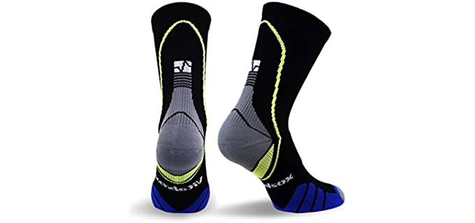 Vitalsox Unisex Anti-Fungal - Stretchy Socks For Athlete's Foot