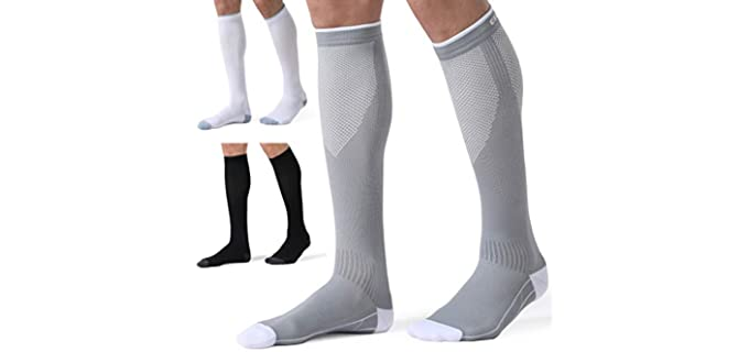 CelerSport Unisex Running - Compression Socks