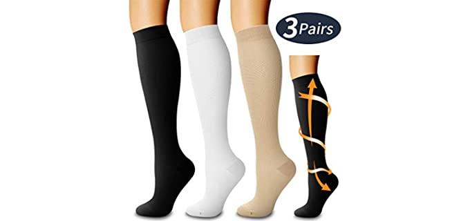 Laite Hebe Store Unisex Compression - CrossFit Socks