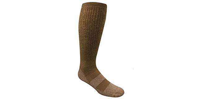Covert Threads Unisex Desert - Military Boot Socks