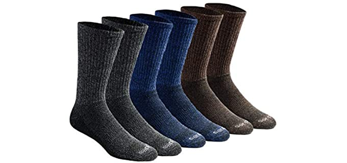 Dickies Men's Dri-tech - Crew Socks