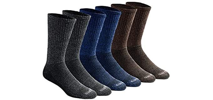 Dickies Men's Dri-tech - Warming Crew Socks