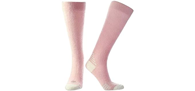 Doctor's Choice Women's Compression - Cozy Sleeping Socks