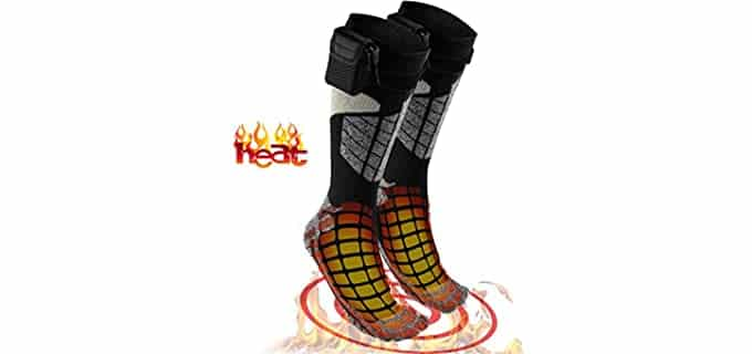 Perfect Life Ideas Unisex Electric - Warm Thermal Socks
