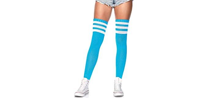 Leg Avenue Women's Athletic - Knee High Socks