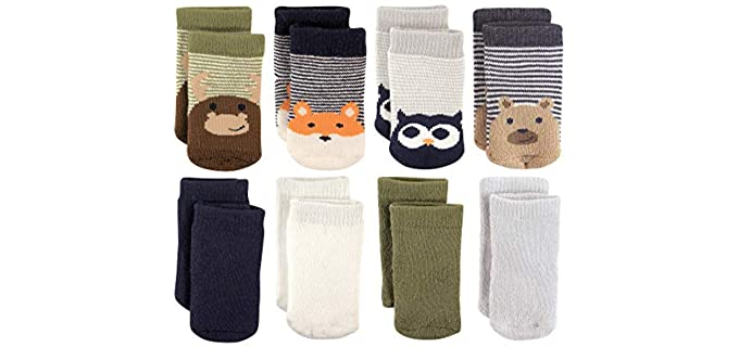 Luvable Friends Unisex Baby - Cute Animal Printed Socks