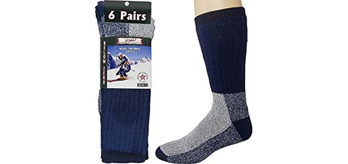Debra Weitzner Unisex Thick - Merino Wool Socks