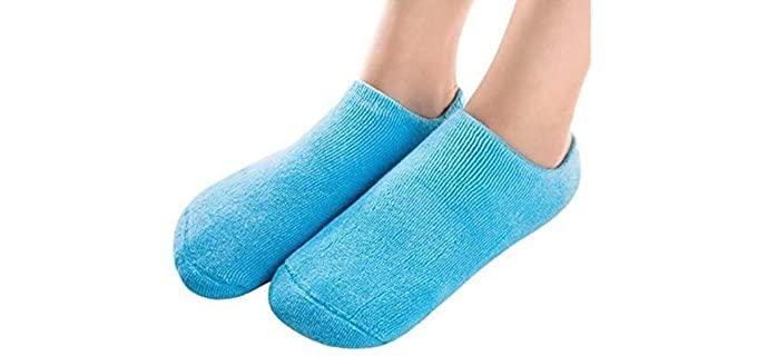 Pinkiou Unisex Moisturizing - Cracked Heel Repair Socks