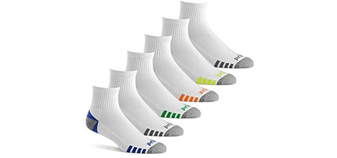 Prince Men's Athletic - Quarter Zumba Socks