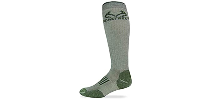 RealTree Unisex Heavyweight - Tall Woolen Socks