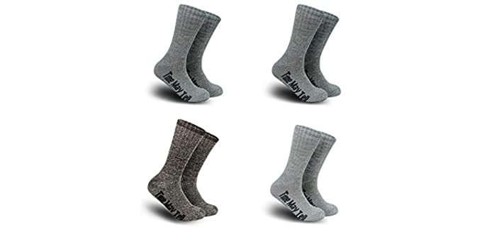Time May Tell Men's Cushioned - Merino Wool Socks
