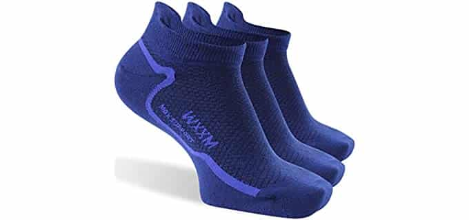 WXXM Unisex Athletic - Wool Cycling Socks