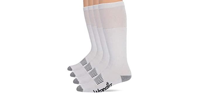 Wrangler Men's Wellington - Work Boot Socks