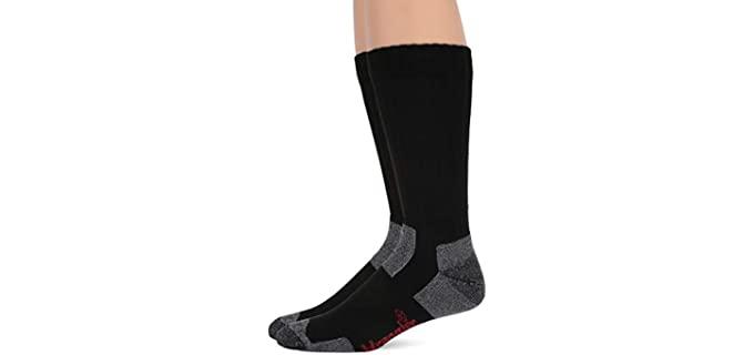 Wrangler Men's Ultra-Dri - Steel Toe Boot Socks