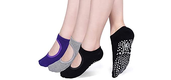 Wander G Store Women's Non-Slip - Yoga and Zumba Socks