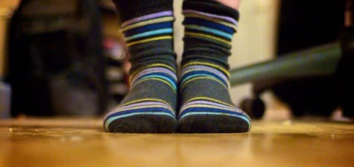 Fuzzy Socks with Grips