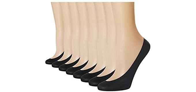 Double Couple Women's Thin - High Heel Socks