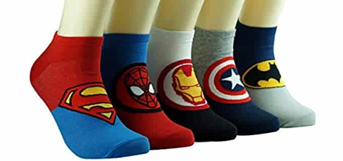 Dasom Men's Fashion - Marvel Super Hero Dress Socks
