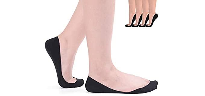 Flammi Women's No-Show - Ultra-Low Socks