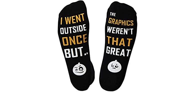 Gamer Unisex Multi-Design - Printed Gamer Themed Socks