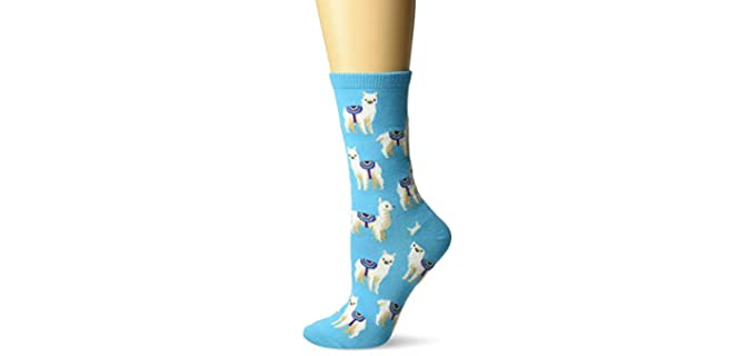 Hot Sox Women's Animal - Series Novelty Casual Socks