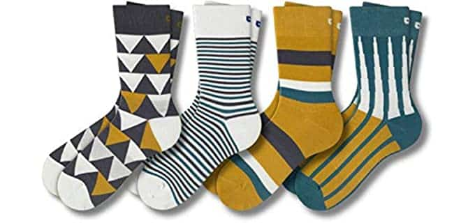 Pair of Thieves Men's Patterned - Casual Crew Socks