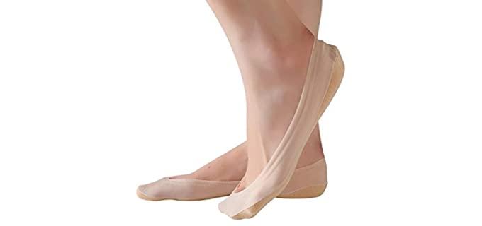 RIIQIICHY Women's Low Cut - Casual Socks Liner