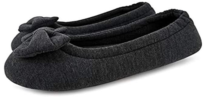 SOLOSMART Women's Soft - Ballerina Slipper Socks