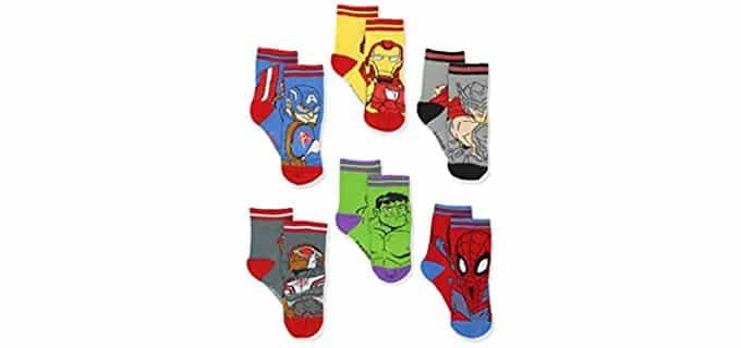 Marvel Boys's Toddler - Avengers Dress Socks