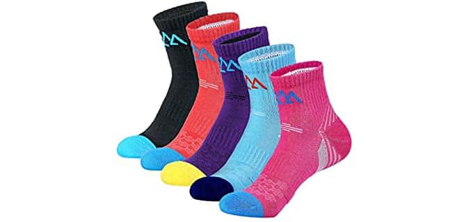Innotree  Women's Padded - Athletic Moisture Wicking Socks