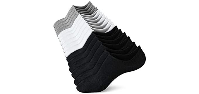 Wernies Women's's Flat - Comfy Best Loafer Socks