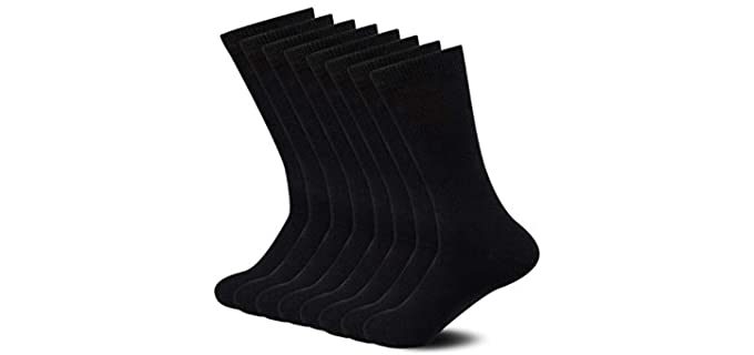 Sock Amazing Unisex Crew - Bamboo Diabetic Soft Socks