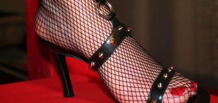 Fishnet Ankle Socks for Women