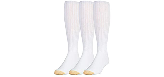 Gold Toe Store Men's Performance Cotton - Knee High Sokcs