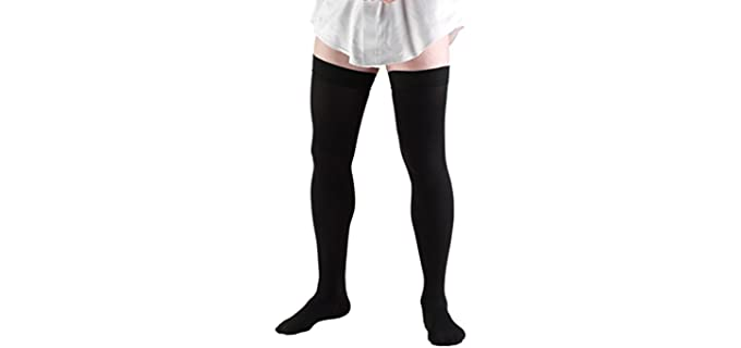 Truform Unisex X-Large - Over The Knee Compression Socks